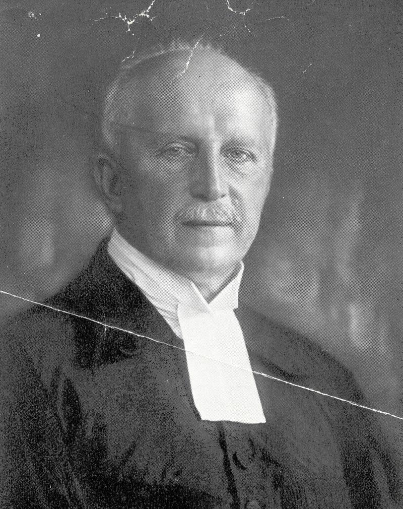 Pfarrer Johann Kessler, 1933, Q: Archiv der Lukaskirche Dresden Sig. 294